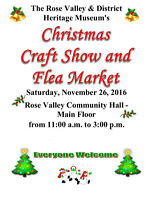 Christmas Craft Sale - Rose Valley & District Heritage Museum