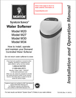 WATER SOFTENER INSTALLER WANTED* Cambridge/Kitcher Area