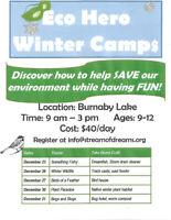 Eco Heros Winter Break Camp on Burnaby Lake