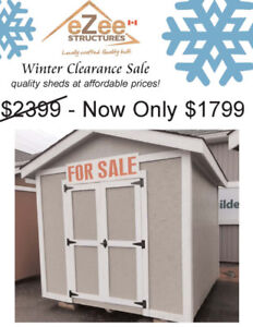 8x8 OSB Shed for Sale at a steal!