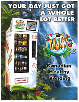 Max! Canadian Healthy Vending -Refrigerated Machines