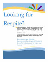 Respite Care Available!