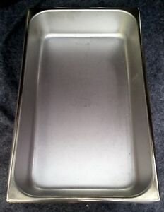 """Vollrath Tray Instrument SS without Cover 12-1/4 x 7-5/8 x 1/8"""""""