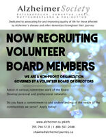 Board of Directors volunteers - Alzheimer Society