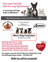 Animalert Annual Microchip Clinic!