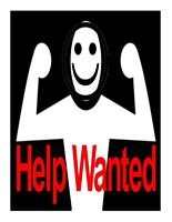 Strong Person Wanted