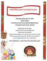Army & Navy Christmas Craft Show