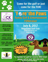 Fore for Paws - Golf Fundriaser for CK Animal Rescue