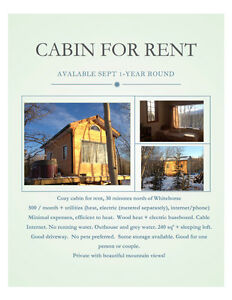 Cozy Cabin for rent