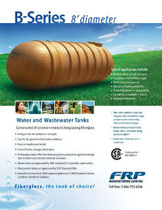 Fiberglass Water Cisterns & Septic Tanks - Available Locally! Regina Regina Area image 3