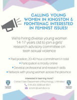 Girls' Research and Advisory Committee on Teen Sexual Violence