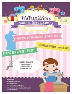 Summer Sewing Camps
