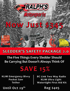 Snowmobiler's Safety Package 2.0