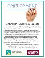 CMHA Employment Support