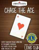 ChASE THE ACE at Freeman's Fairview