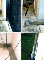 TIRED OF YOUR WET LEAKY BASEMENT?