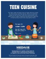 Teen Cuisine Cooking Classes