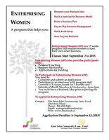 Enterprising Women Program - Start your own Business!
