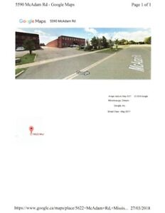 5622 McADAM ROAD, MISSISSAUGA, ON FOR LEASE