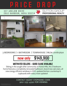Townhouse in sought after Forest Hills -- 327 Arklow Drive