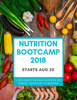 Nutrition Bootcamp - online course to help you reach your goals