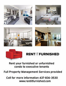 Rent Your Furnished Suite With Us!