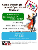 Come Dancing!! - OPEN HOUSE FREE CLASSES!