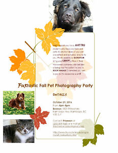 Pet Photography Party - Fall Themed