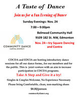 Taste of Dance - Try Square Dance and Contra
