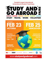 The Study and Go Abroad Fair -- Victoria