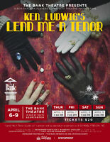Lend Me A Tenor at The Bank Theatre