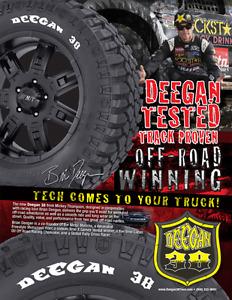 NEW Mickey Thompson Deegan 38 A/T LT265/70R17 Tires