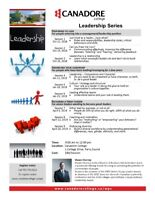 Leadership Series, Canadore College, Parry Sound