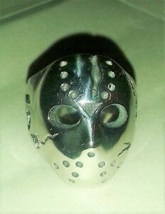 Stainless Steel Ring: Friday the 13th  Jason Mask