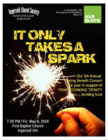 Ingersoll Choral Society Benefit Concert