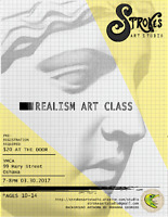 YMCA Realism Art Class Ages 10-14