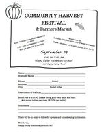 Happy Valley Elementary School Harvest Festival & Farmers Market