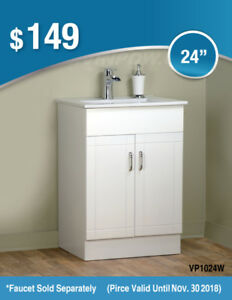 "30"" vanity from $189 More Selection Lower Price for Black Friday"