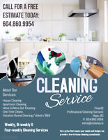 Move Out/In Cleaning Services - Call for a free estimate