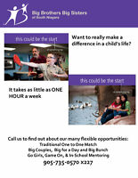 BIG BROTHERS AND BIG SISTERS WANTED