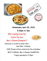 Mac 'n Cheese Cook OFF!!