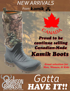 Kamik Boots & Under Armour Boots