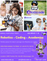 Kids Robotics, Coding, Academics Classes - Amazing Training here