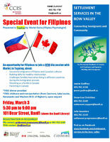 Special Event for Filipinos
