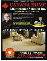 TILE, GROUT, CARPET CLEANING & STRETCHING /GENERAL CLEANING