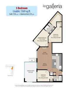 La Galleria - 3 Bedroom Plan T