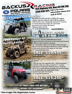 Polaris Ranger SALE!