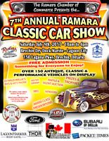 Vendors Wanted for Classic Car Show July 8