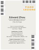 PROFESSIONAL PIANO LESSONS - PROFESSIONAL RESULTS
