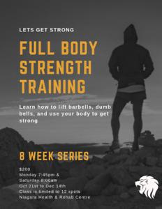 8-Week Strength Training